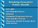 smoking cessation public health8