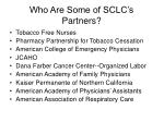 who are some of sclc s partners