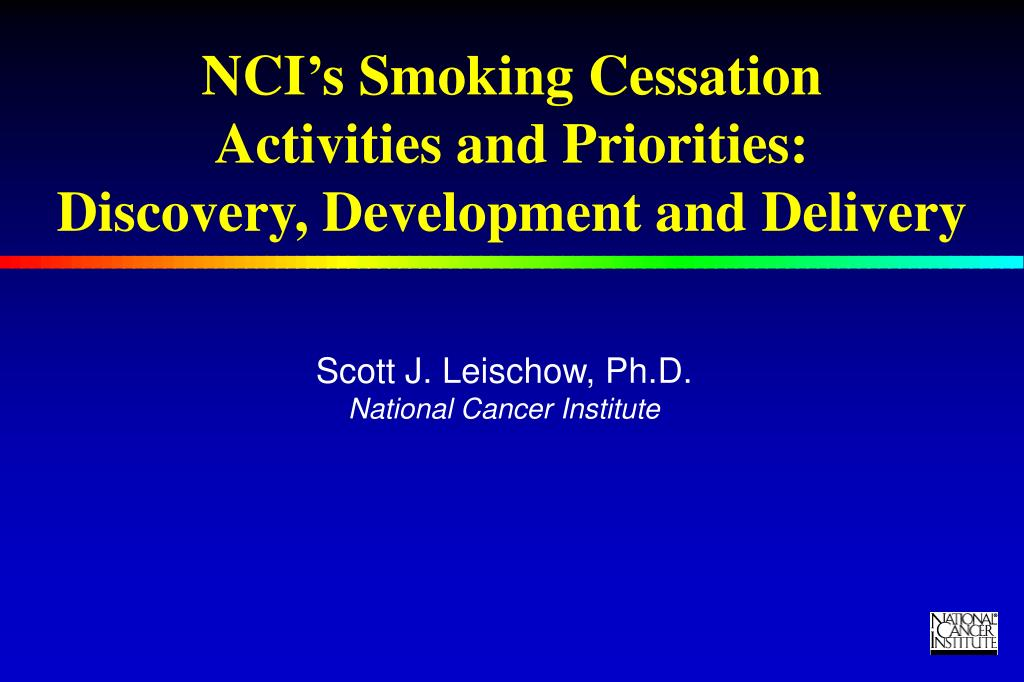 NCI's Smoking Cessation