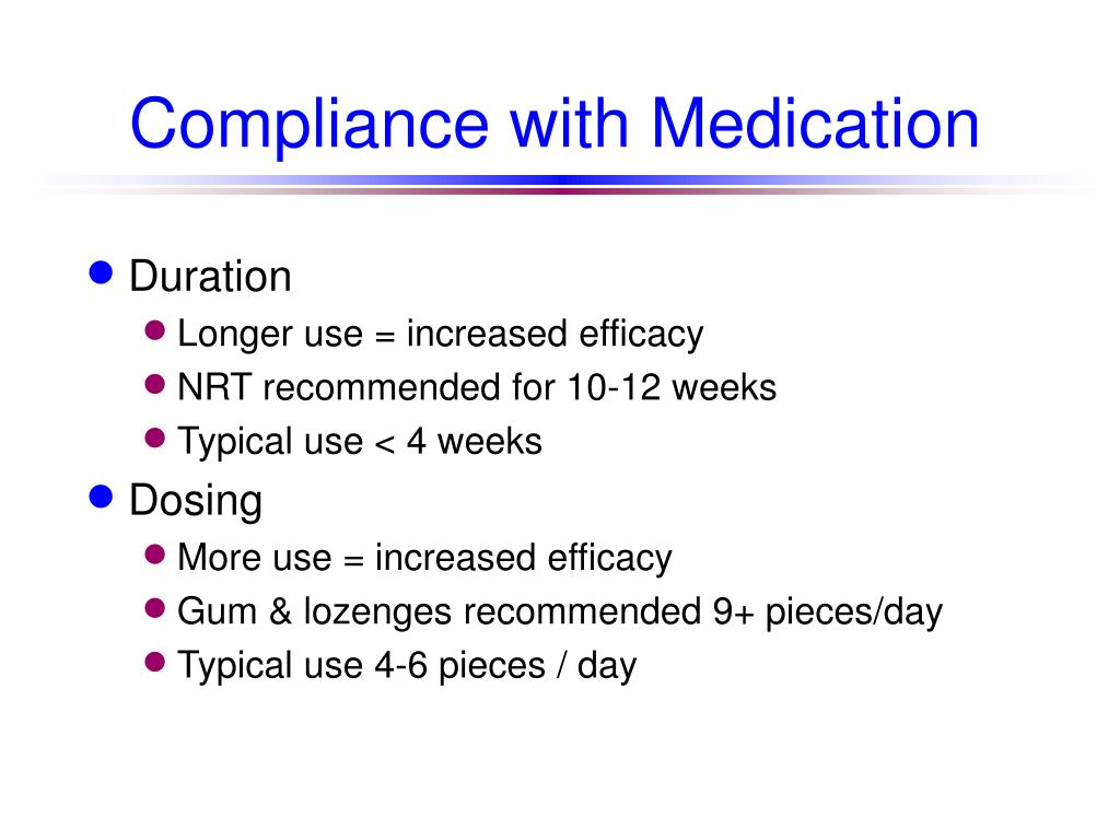 Compliance with Medication