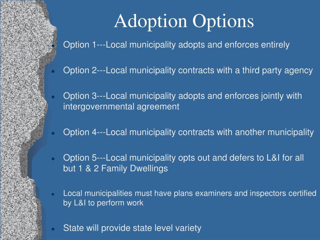 Adoption Options