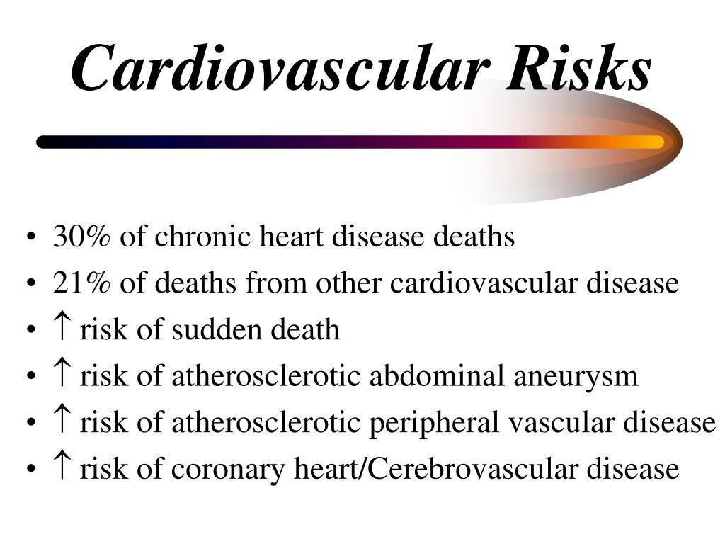 Cardiovascular Risks