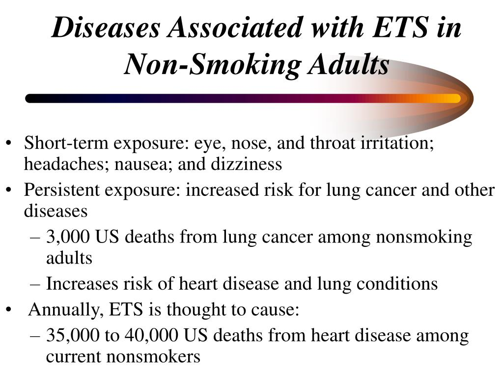 Diseases Associated with ETS in