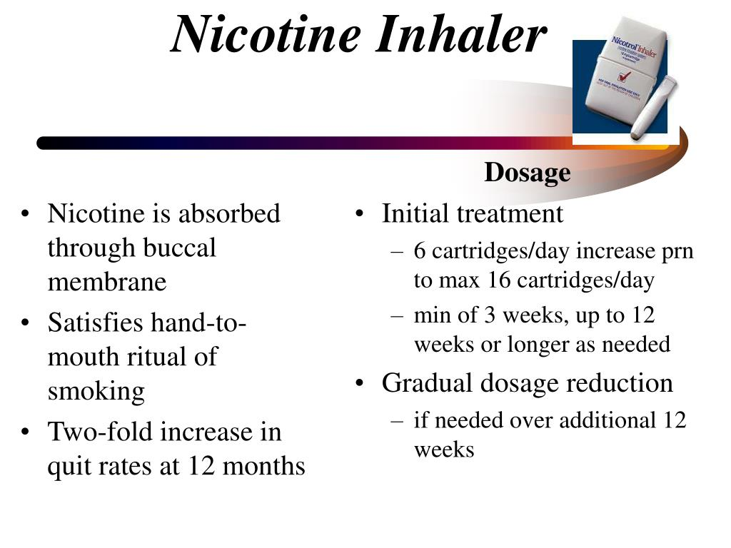 Nicotine is absorbed through buccal membrane