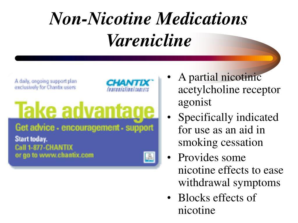 Non-Nicotine Medications