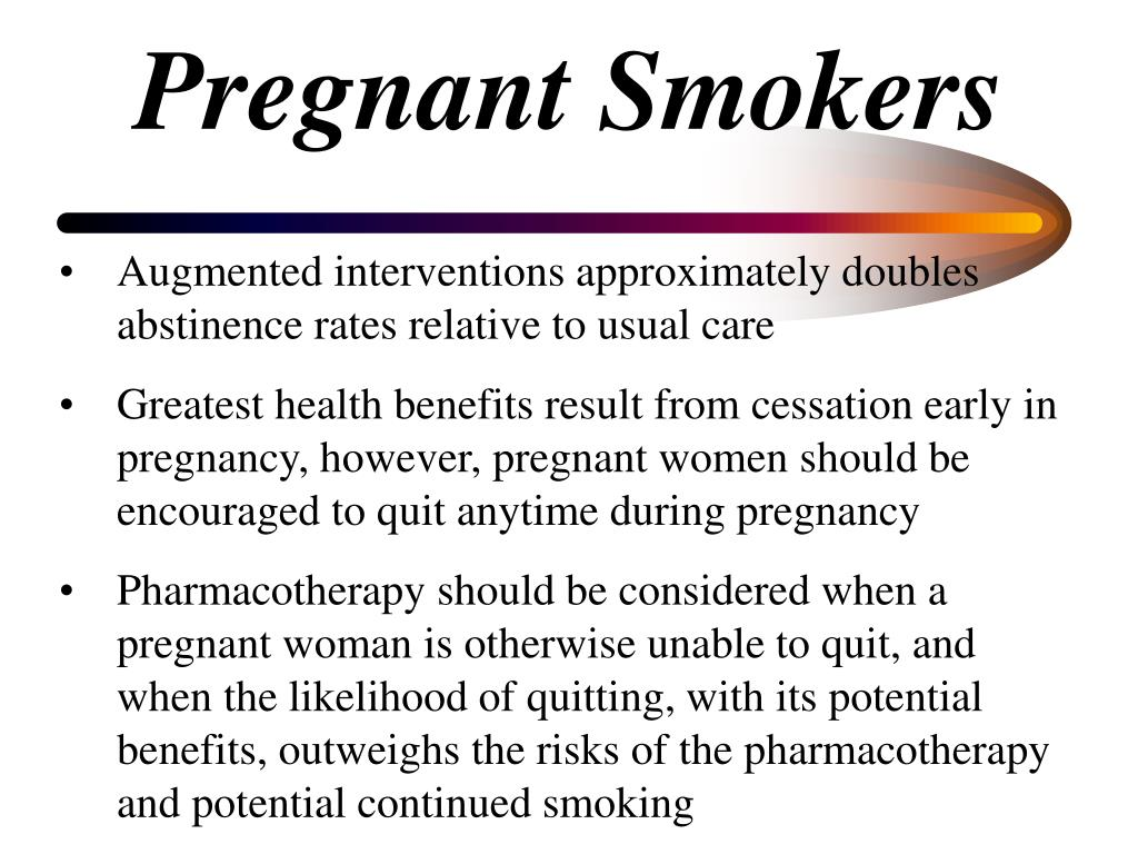 Pregnant Smokers