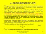 4 groundwater flow