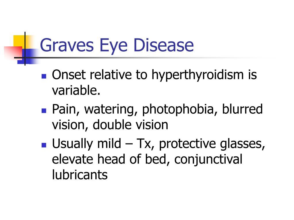 Graves Eye Disease