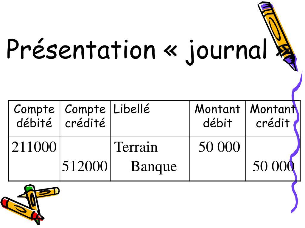 Présentation «journal»