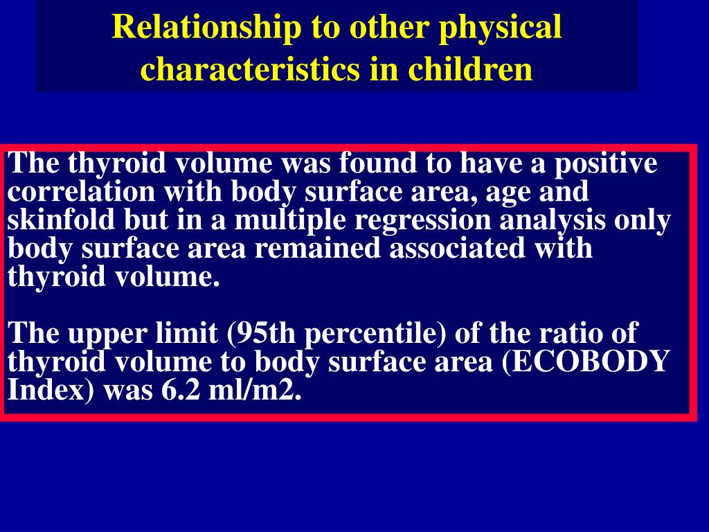Relationship to other physical