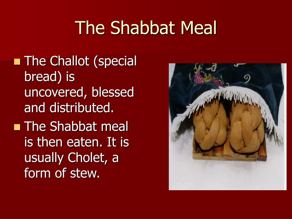 The Shabbat Meal
