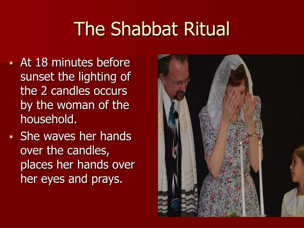 The Shabbat Ritual