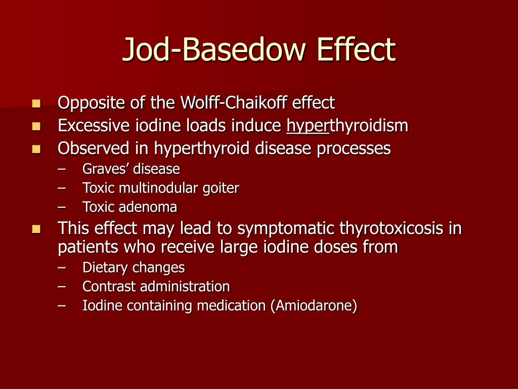Jod-Basedow Effect