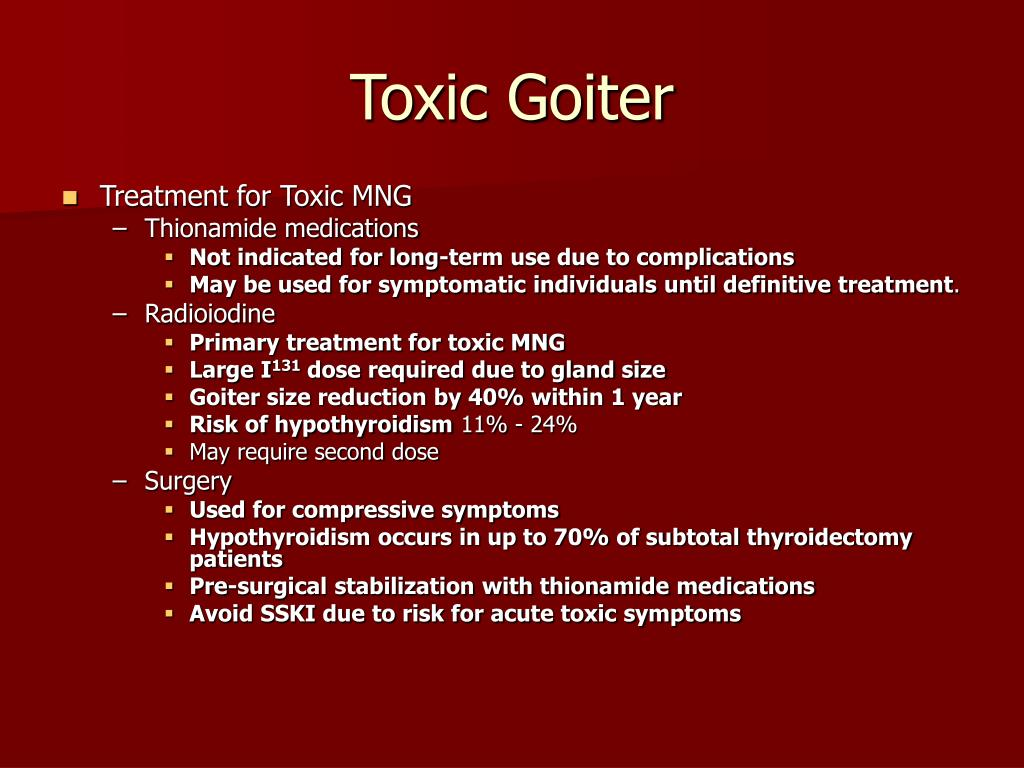 Toxic Goiter