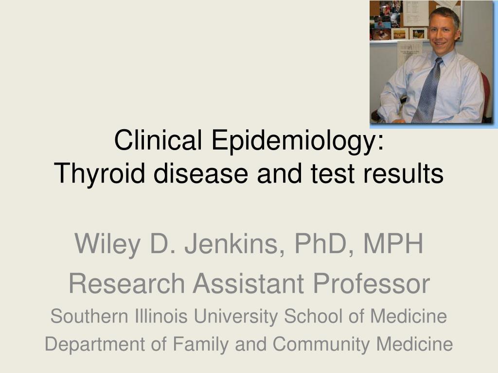 Clinical Epidemiology: