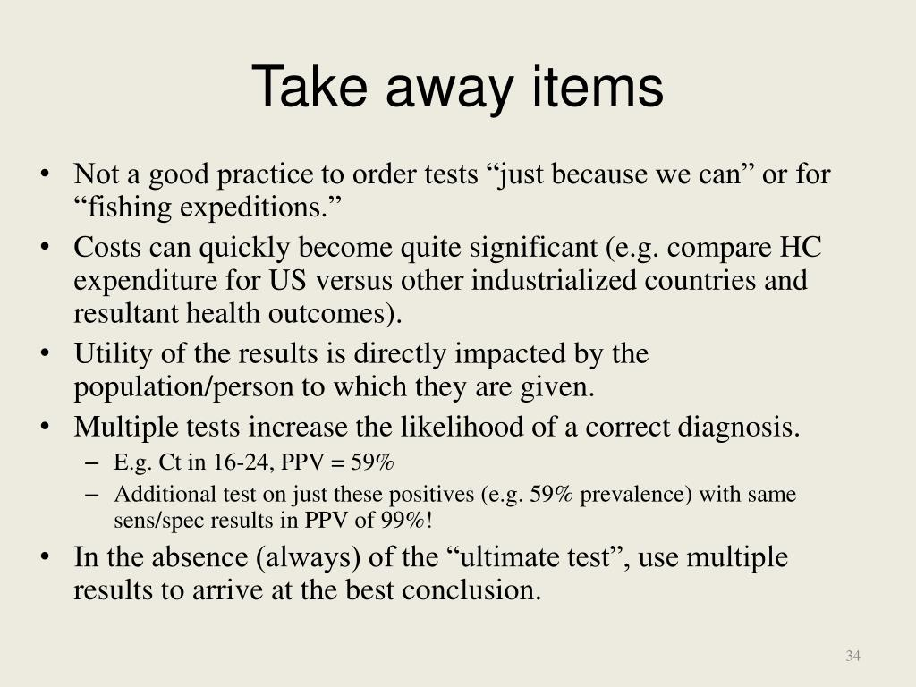 Take away items
