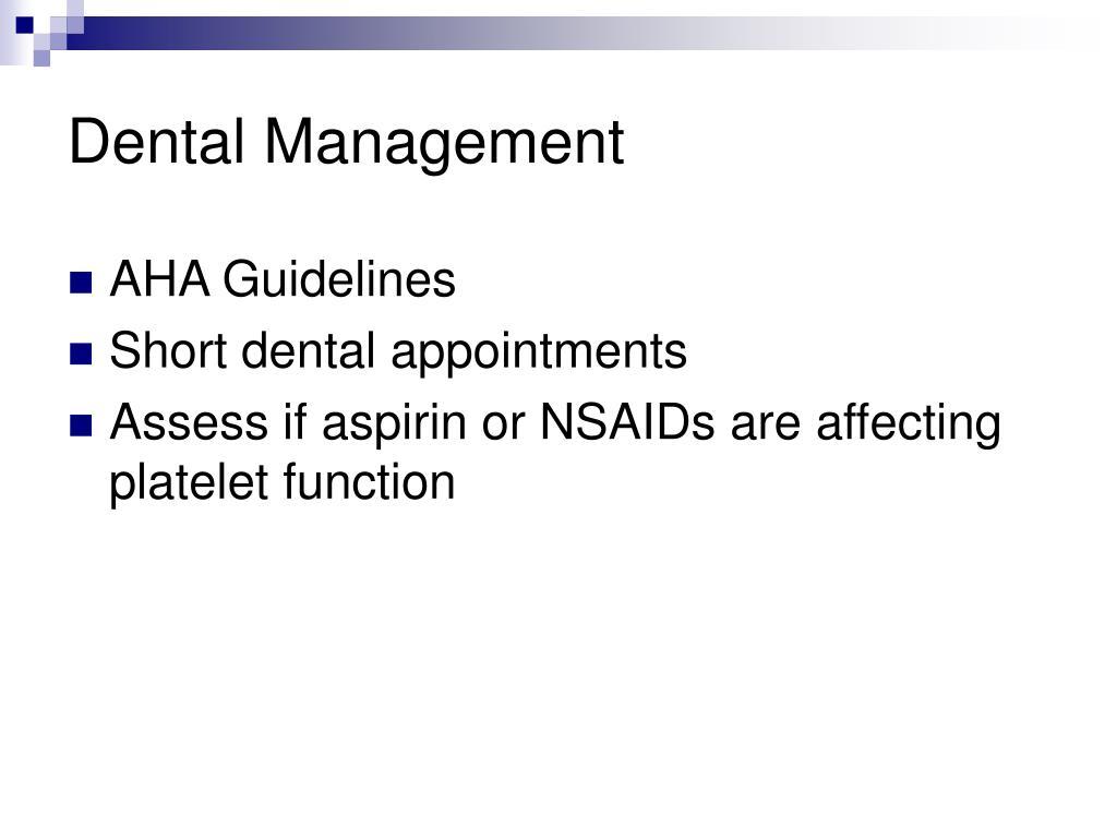Dental Management