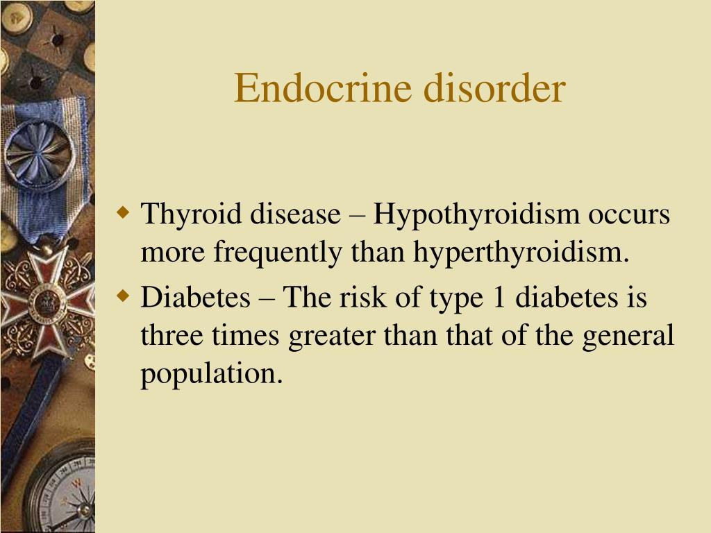 Endocrine disorder