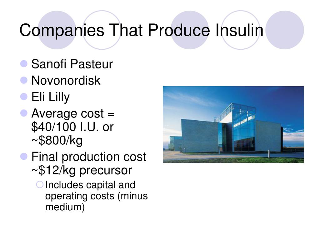 Companies That Produce Insulin