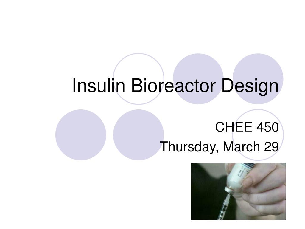 Insulin Bioreactor Design
