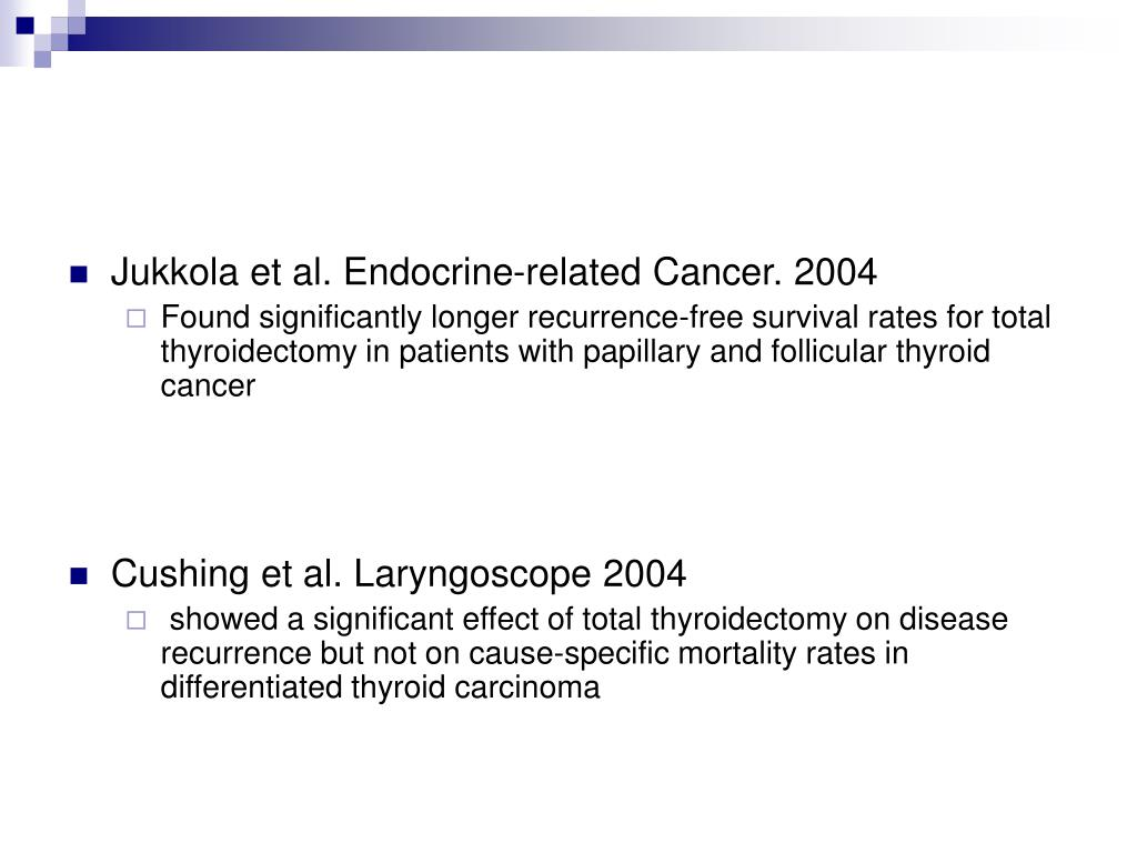 Jukkola et al. Endocrine-related Cancer. 2004