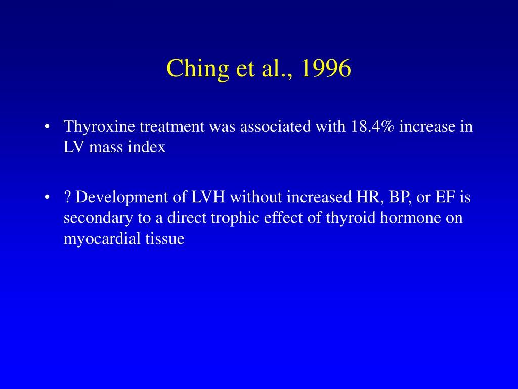 Ching et al., 1996