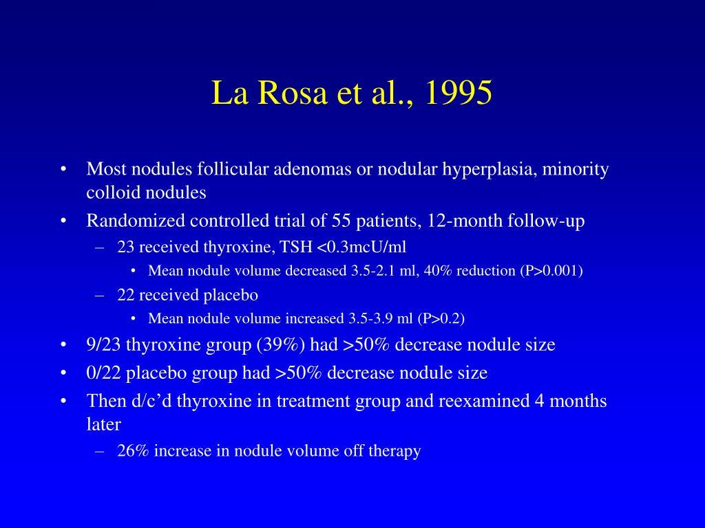 La Rosa et al., 1995