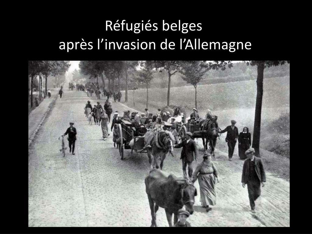 Réfugiés belges