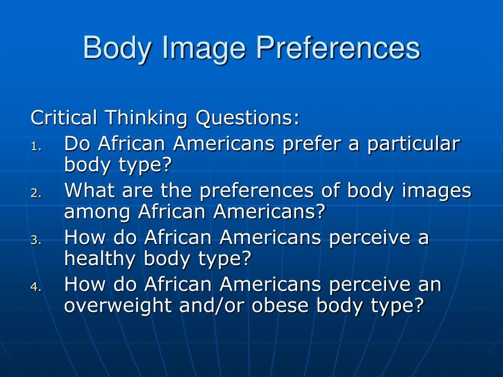 Body Image Preferences