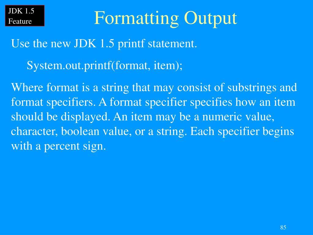 JDK 1.5