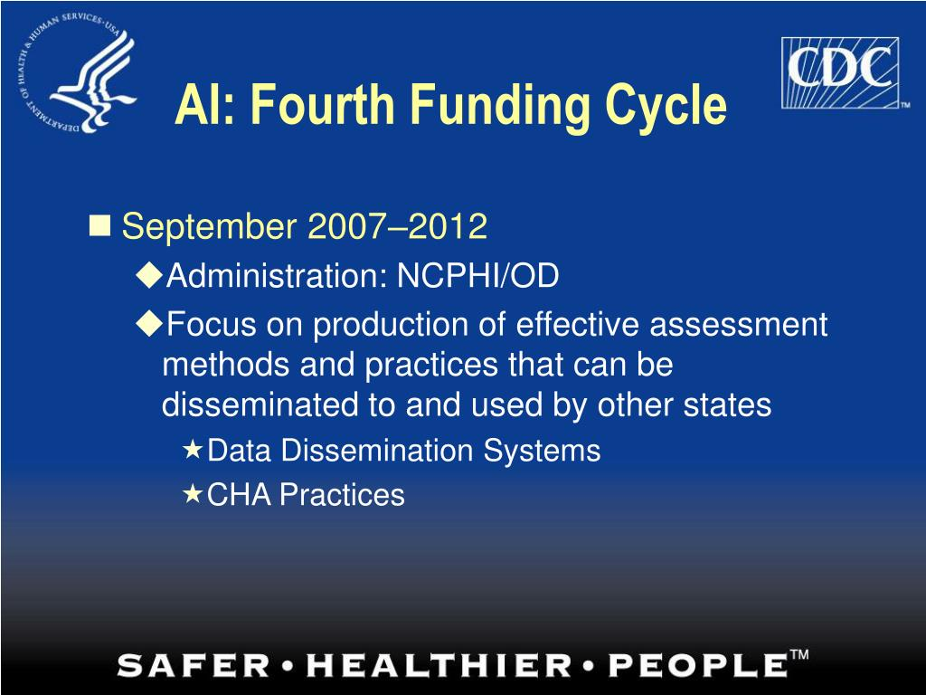 AI: Fourth Funding Cycle