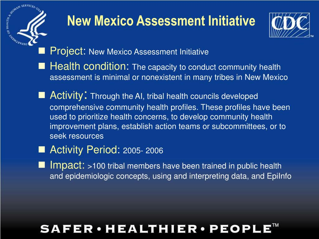 New Mexico Assessment Initiative