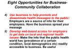 eight opportunities for business community collaboration20