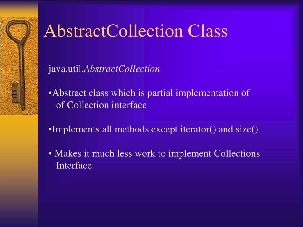 AbstractCollection Class