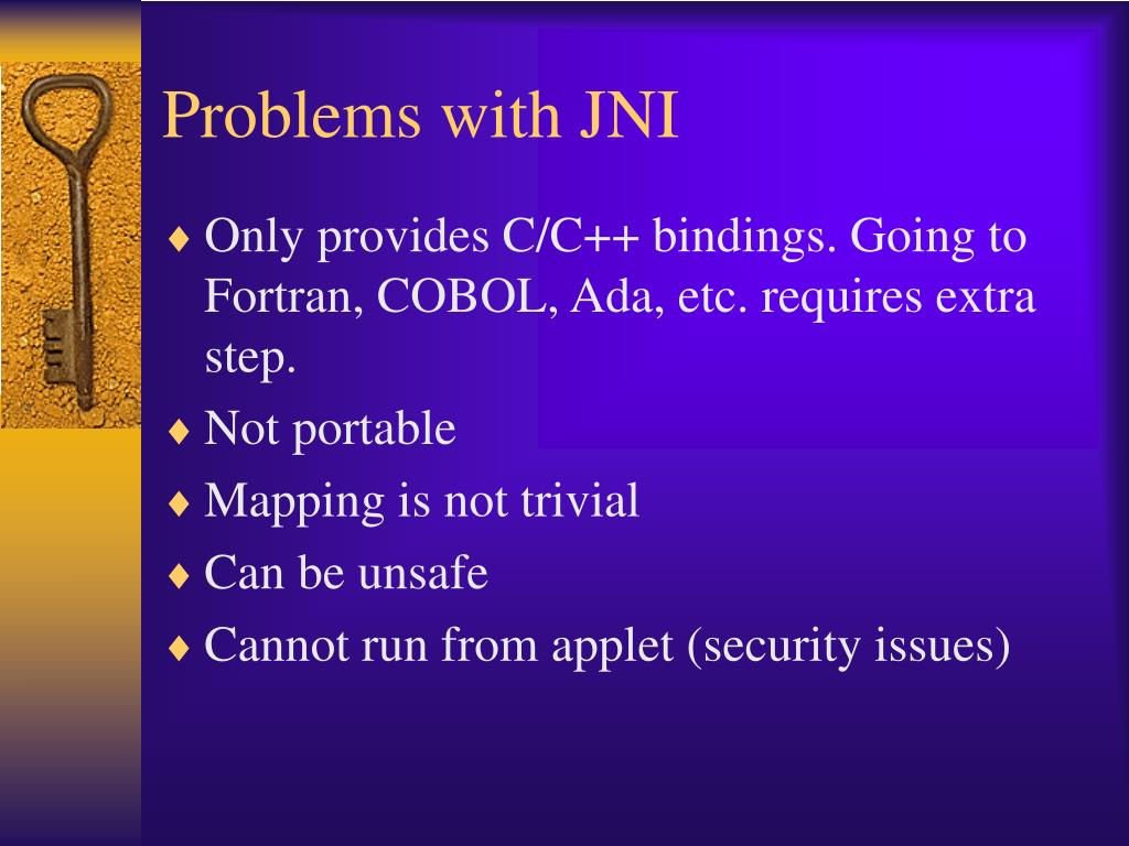 Problems with JNI