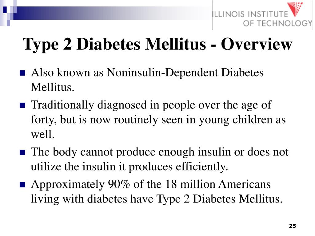 Type 2 Diabetes Mellitus - Overview