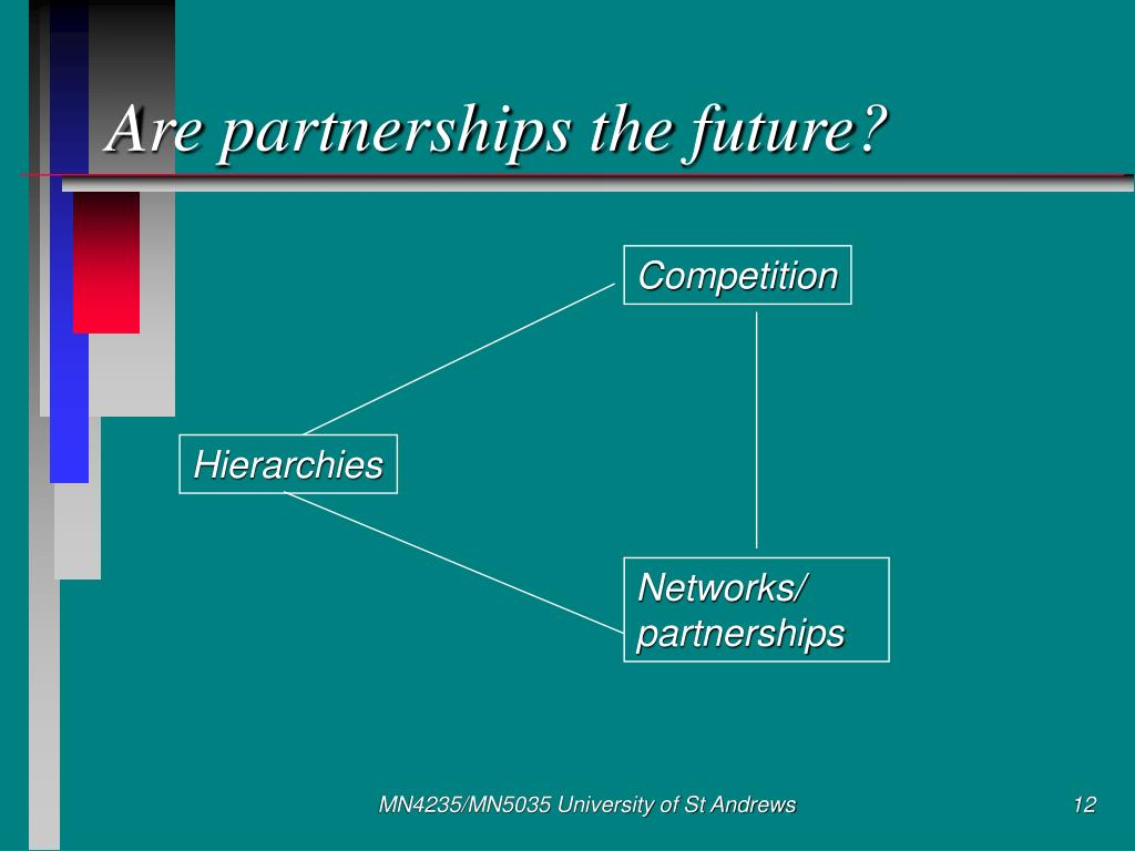Are partnerships the future?