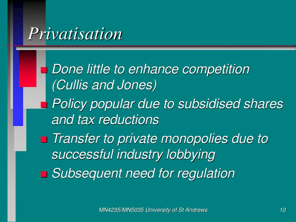 Privatisation