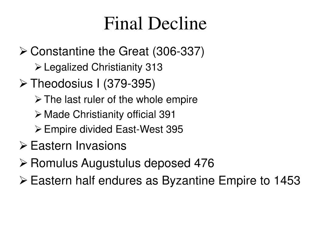 Final Decline