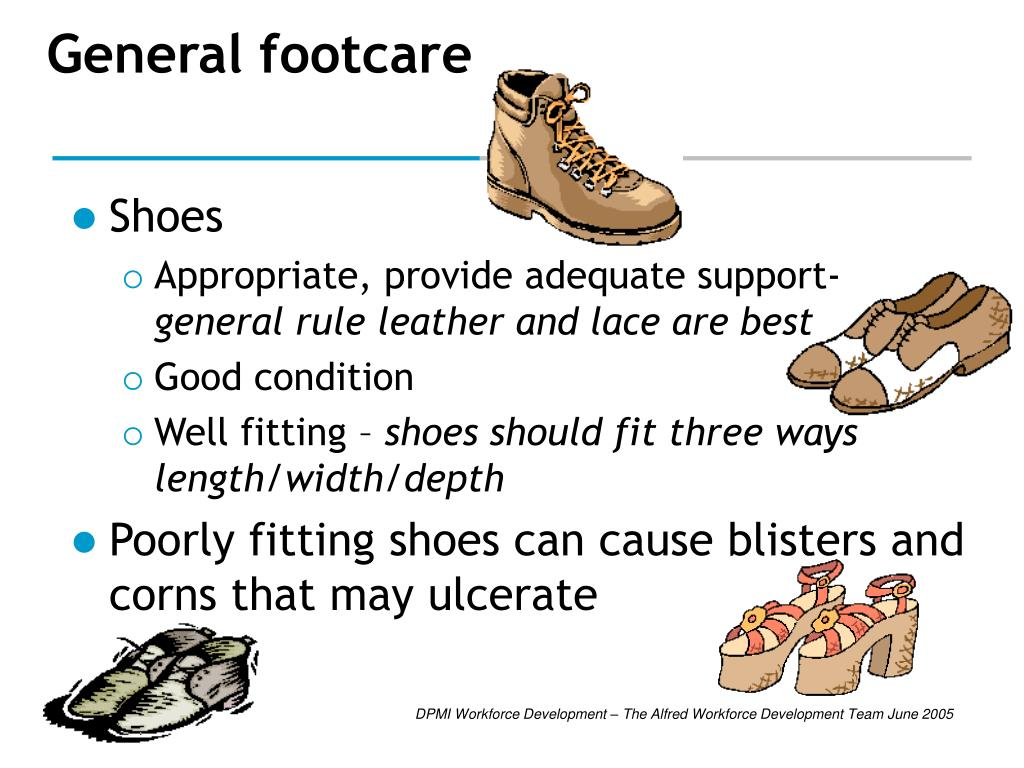 General footcare