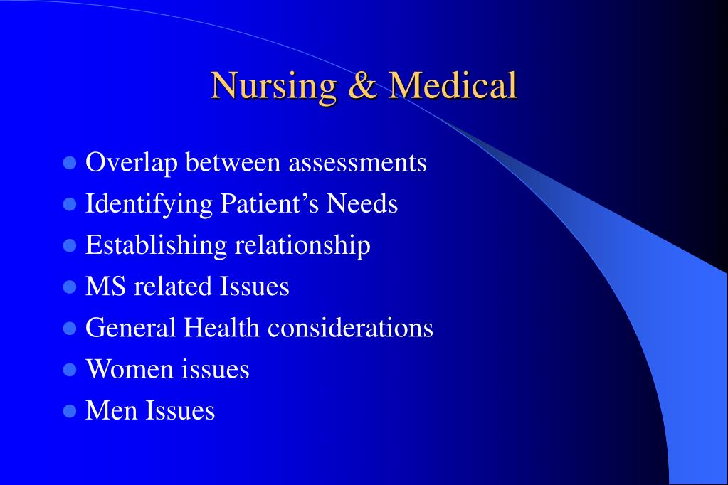 Nursing & Medical