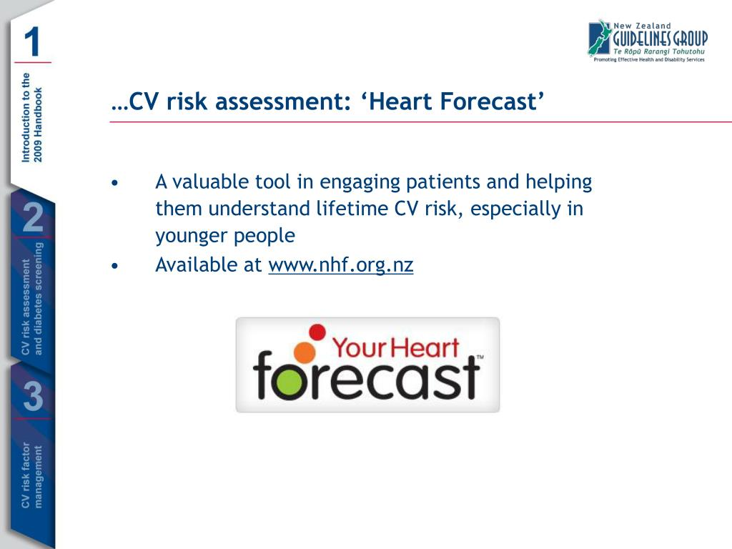 A valuable tool in engaging patients and helping them understand lifetime CV risk, especially in younger people