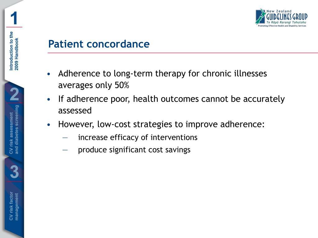 Patient concordance