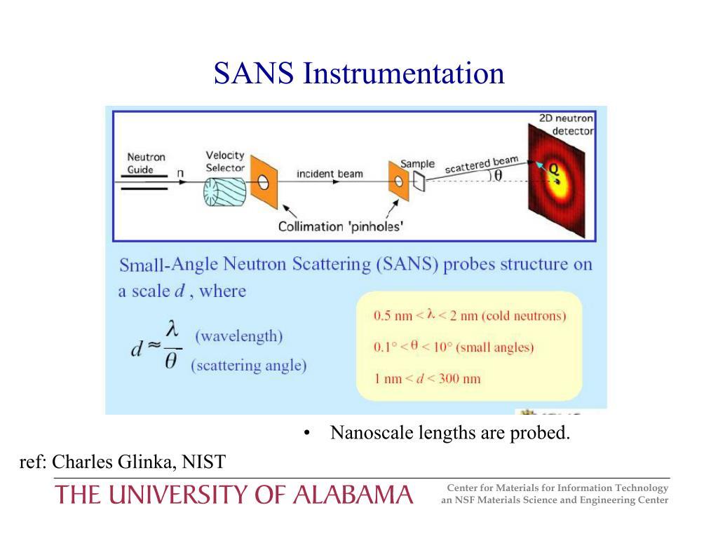 SANS Instrumentation