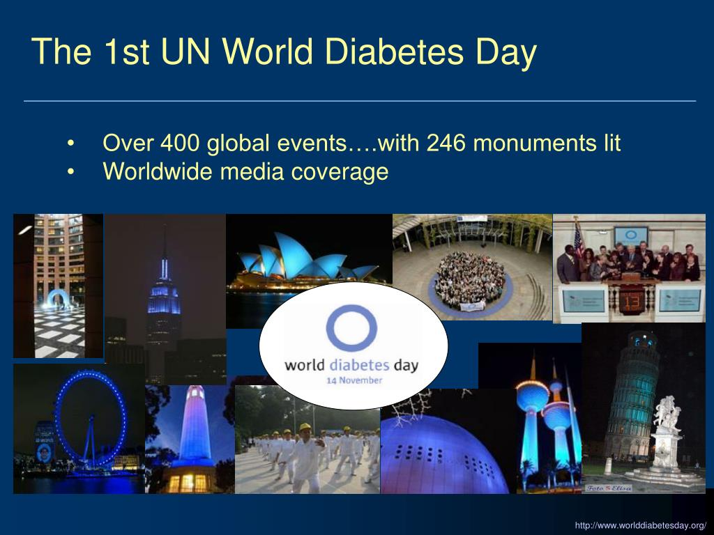 The 1st UN World Diabetes Day