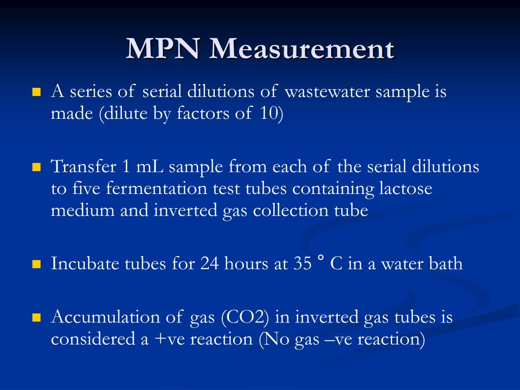 MPN Measurement