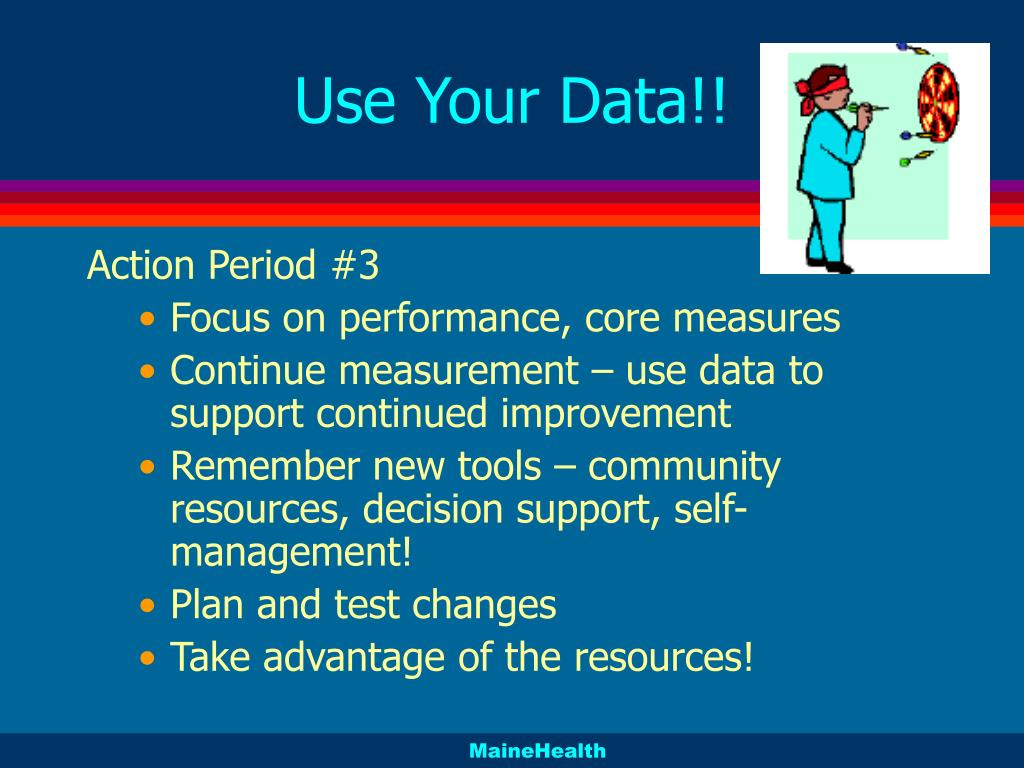 Use Your Data!!