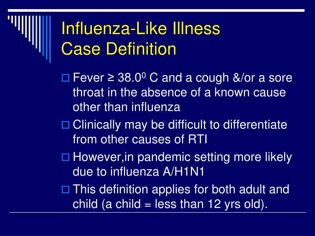 Influenza-Like Illness
