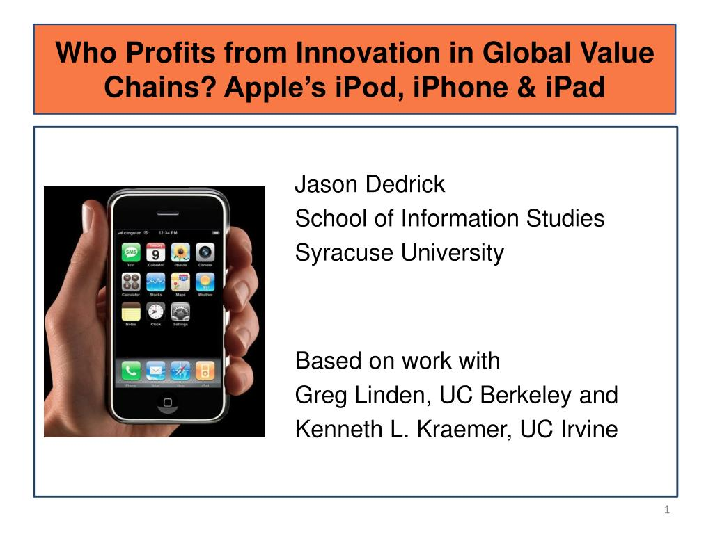 Ipod to ipad innovation and entrepreneurship at apple case study