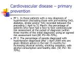 cardiovascular disease primary prevention